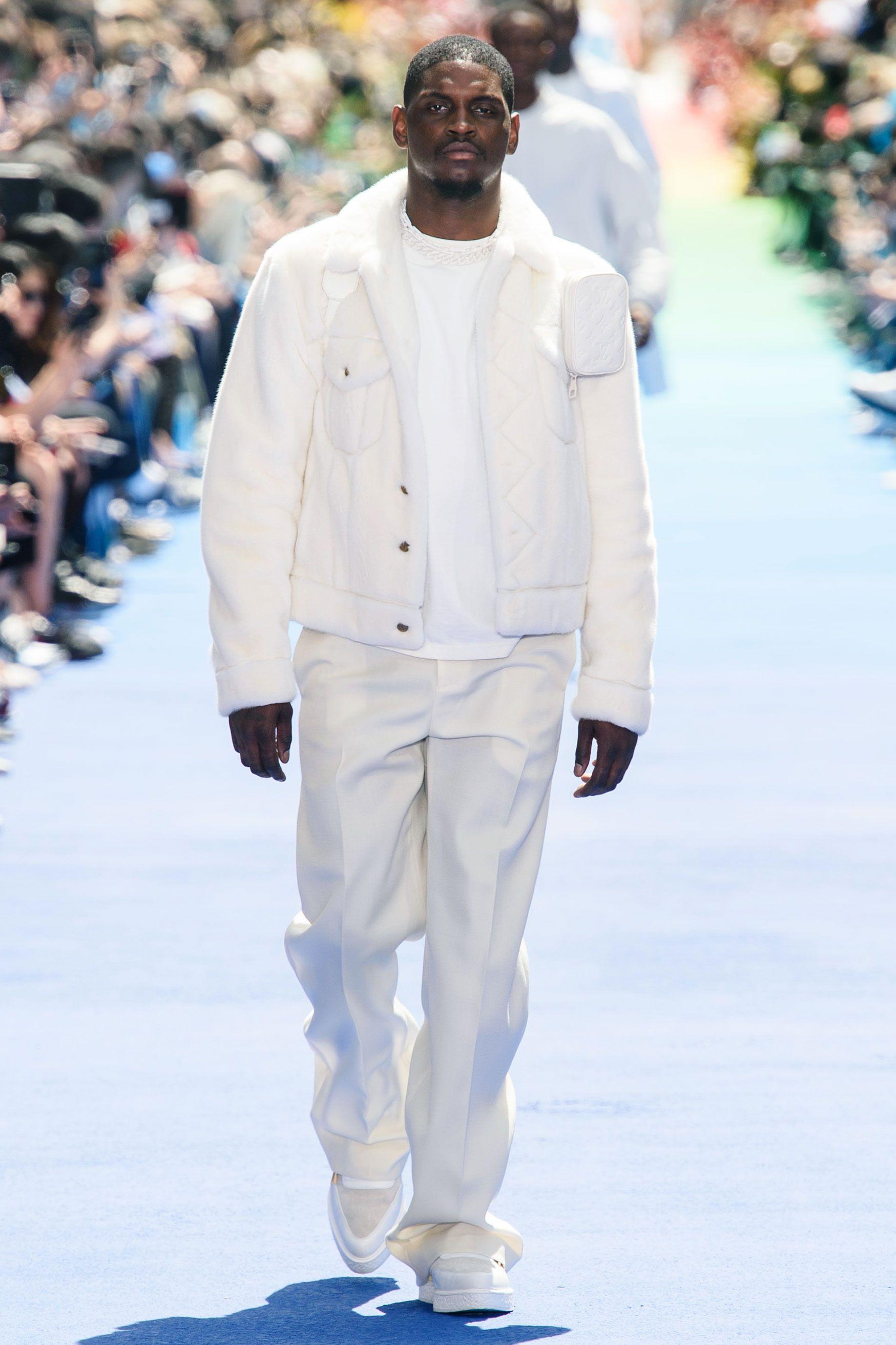 Louis Vuitton Leather Jacket Virgil Abloh