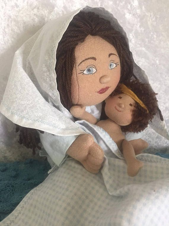 Blessed virgin mary doll and baby jesus doll set plush easter blessed virgin mary doll and baby jesus doll set plush catholic giftsdoll negle Choice Image