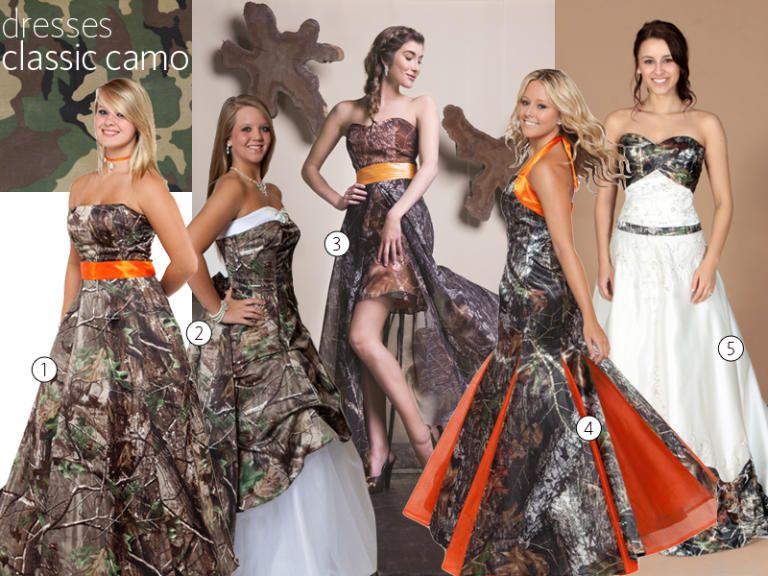 31 Camo Wedding And Bridesmaid