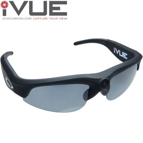 Love this iVUE Camera Glasses HD 720P Sunglasses Video Recording DVR Eyewear (Black + Wide Angle Lens)