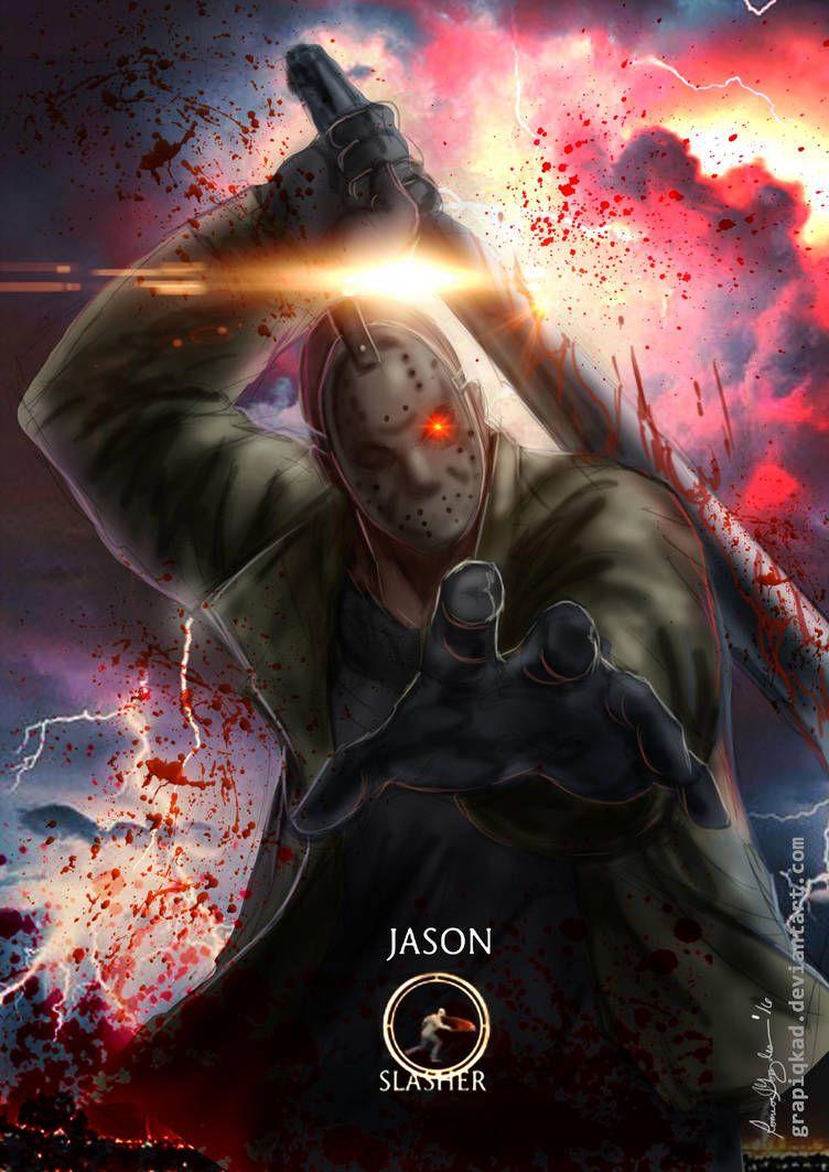 Mortal Kombat X-Jason Slasher Variation by Grapiqkad | Horror