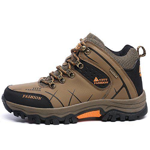 Amazon.com | YITU Men's Fashion Unlimited Outdoor Thickening Waterproof  Hiking Shoe-8528grey11 | Hiking Shoes