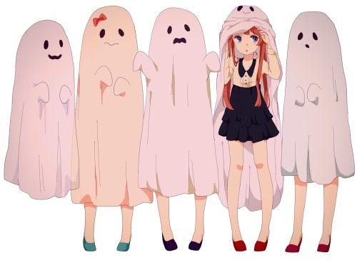 Animekawaii Kawaii Halloween Anime Ghost Anime Halloween
