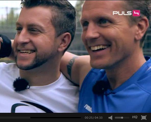 Da das Video auf der PULS4-Webseitenur in Österreich zu sehen ist, veröffentlichenwir es nun auch für alle hier bei uns! Am 27.10.2014 wurde es auf ProSieben- und SAT1 Austria, sowie PULS4 ausgestrahlt und erreichte rund 3.000.000 Haushalte! Wir bedanken uns bei dem gesamten Team von CAFE PULS! LINKS: CAFE PULS ProSiebenAustria Originaler Videolink
