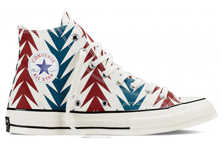 Converse Chuck Taylor All Star 70s LES Archive Print Chili High Tops Shoes   converse  shoes 3bb902b8c51e3
