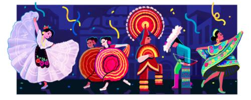 love coffee Google doodles, Doodles, Ballet folklorico