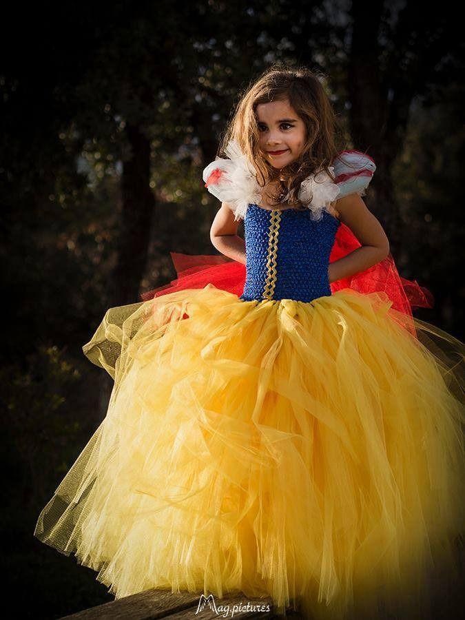Robe de princesse fille 6 ans