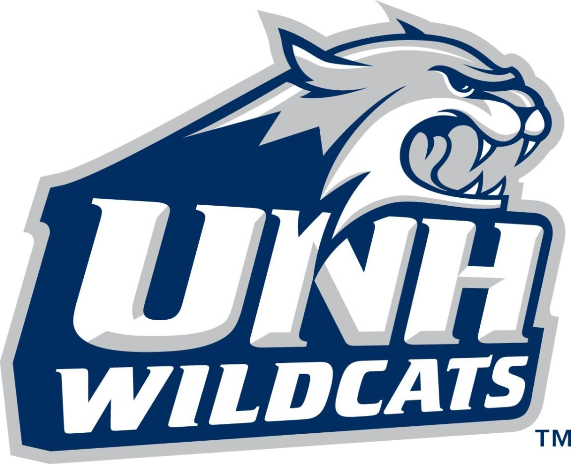 Unh Univerty Of New Hampshire Wildcats Ncaa Hockey Usa University Of New Hampshire New Hampshire College Logo