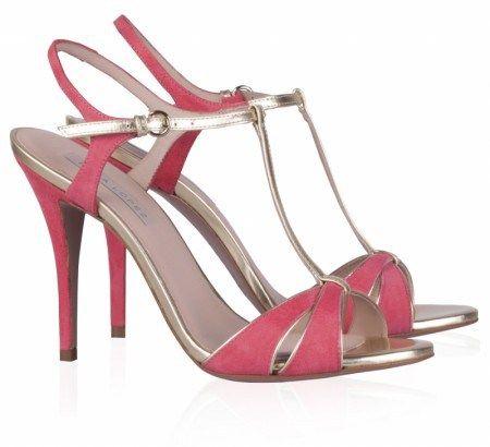 3e4f35b138e elblogdeanasuero Zapatos de fiesta Pura López sandalias rojas con vivos  metalizados