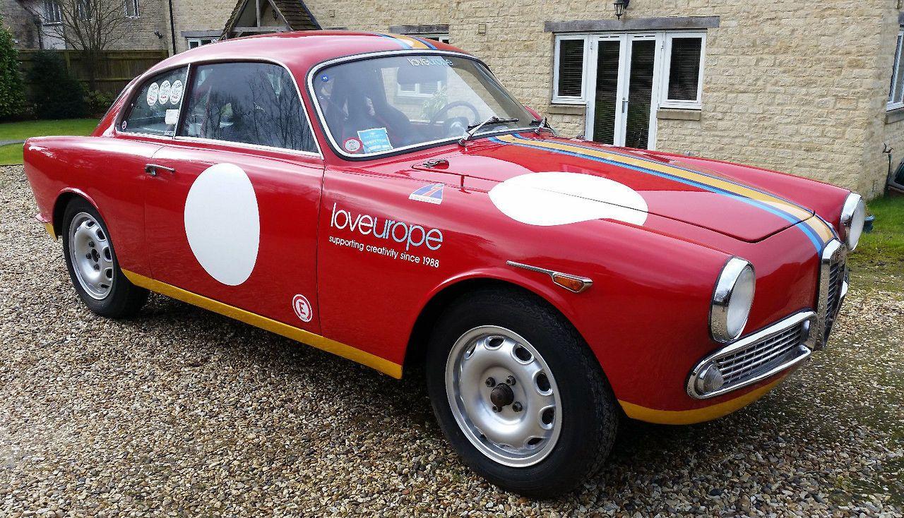 eBay: 1960 Alfa Romeo Giulietta 101 Sprint Hill Climb / Road / Race ...