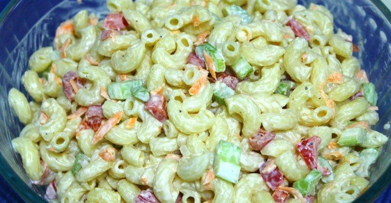 Can We Guess What S In This Southern Macaroni Salad