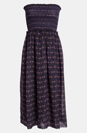 Wayf Smocked Dress available at #Nordstrom