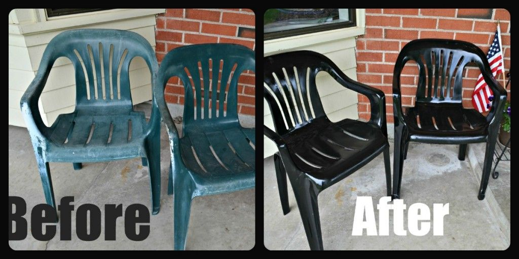 Painting Plastic Chairs paint for plastic patio furniture | bedroom and living room image