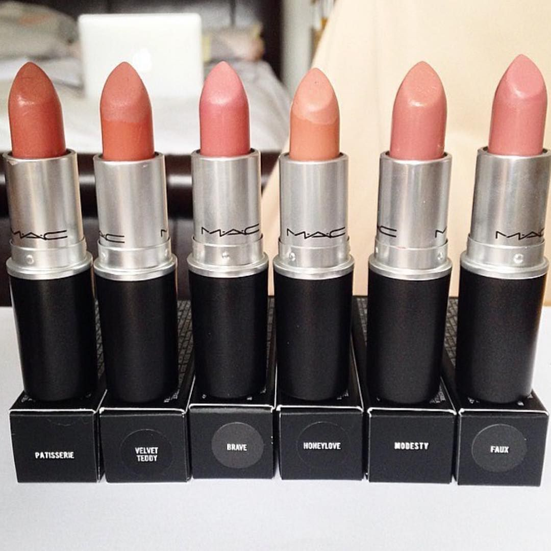 Mac nude lipsticks with names Mac makeup eyeshadow, Mac