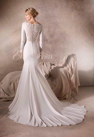 vestido de novia modelo hailey de la sposapronovias en eva