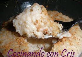 Cocinando con Cris: Arroz con leche hecho en panificadora