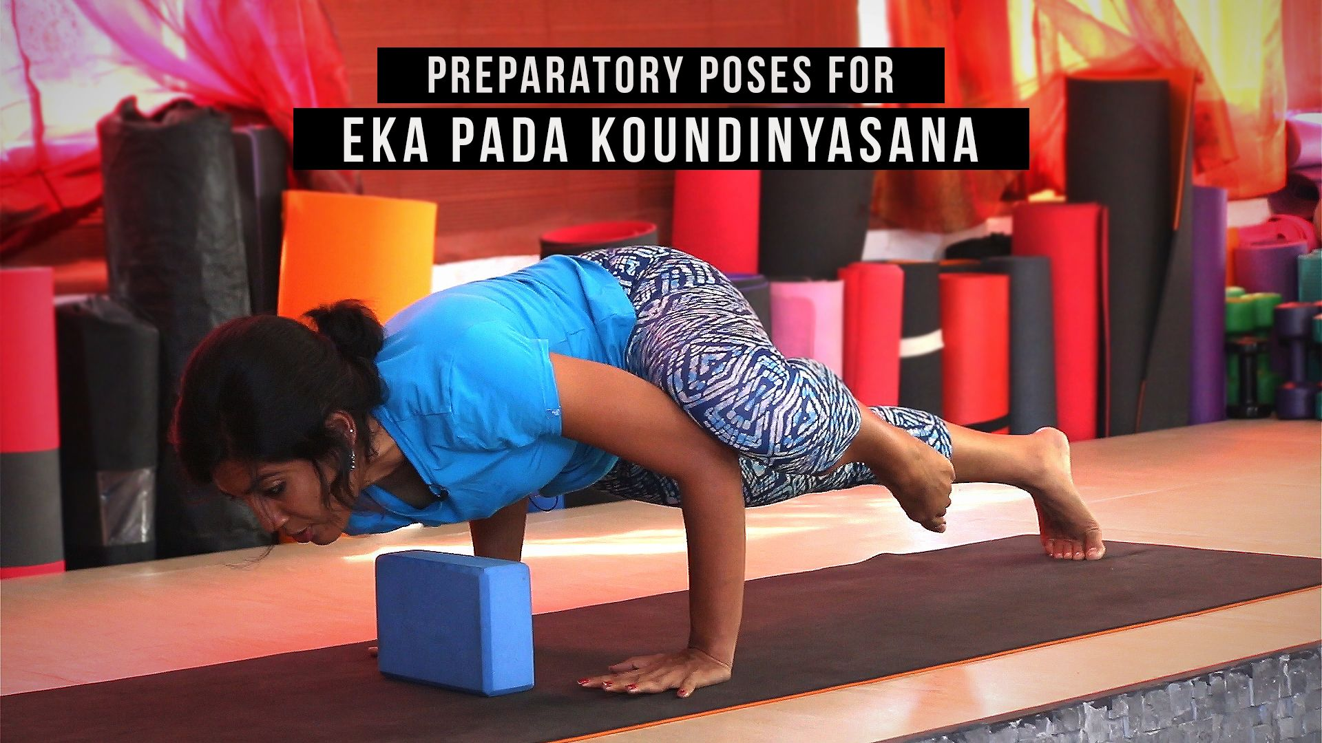 Preparatory Poses For Eka Pada Koundinyasana Ii Poses Yoga Arm Balance Yoga