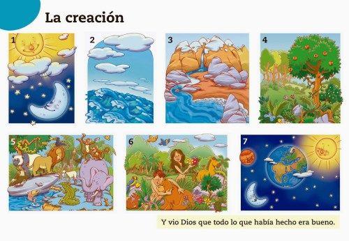 La Creación De Dios Para Imprimir Educanimando La