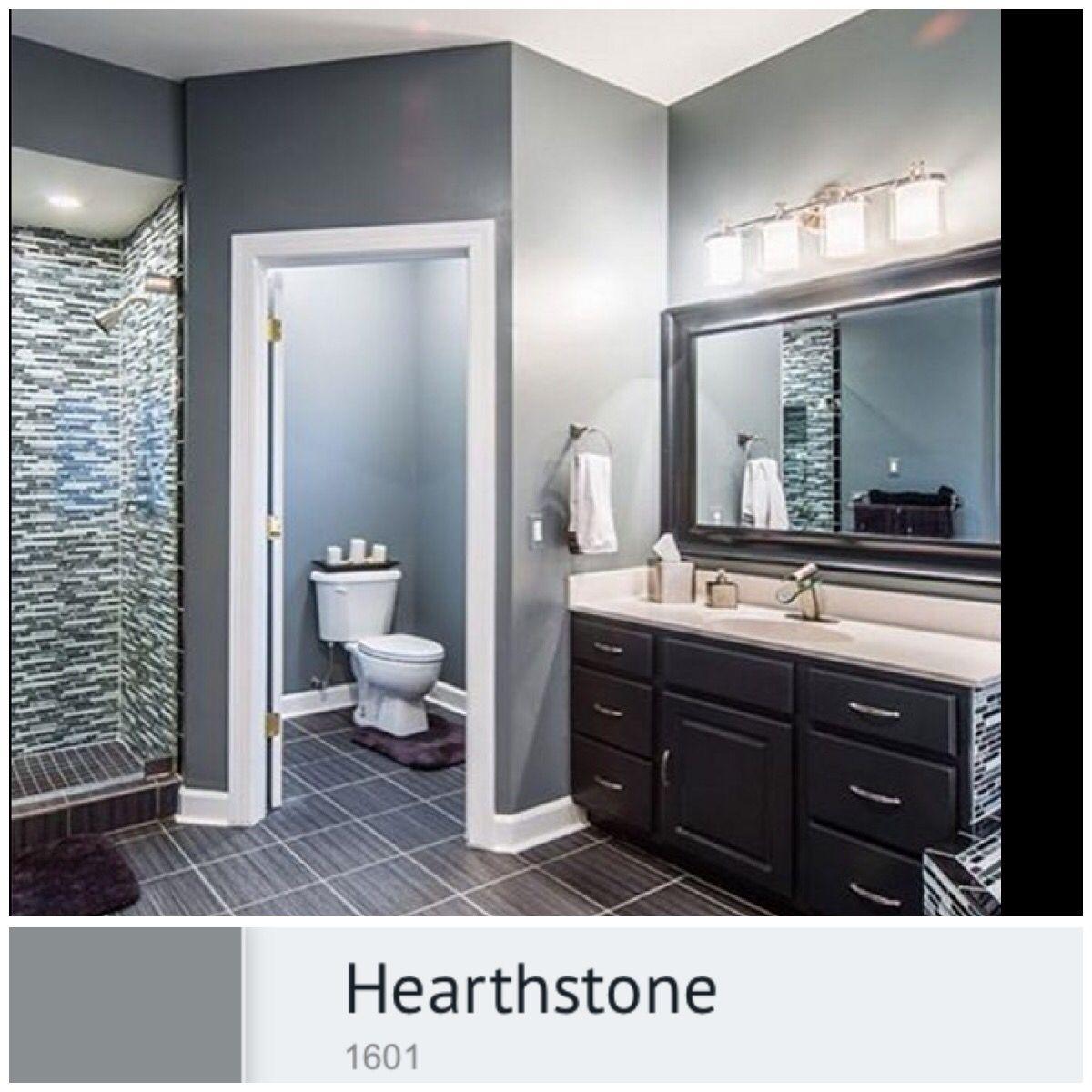 Benjamin moore colors for bathroom - Bathroom Colors Benjamin Moore Hearthstone 1601