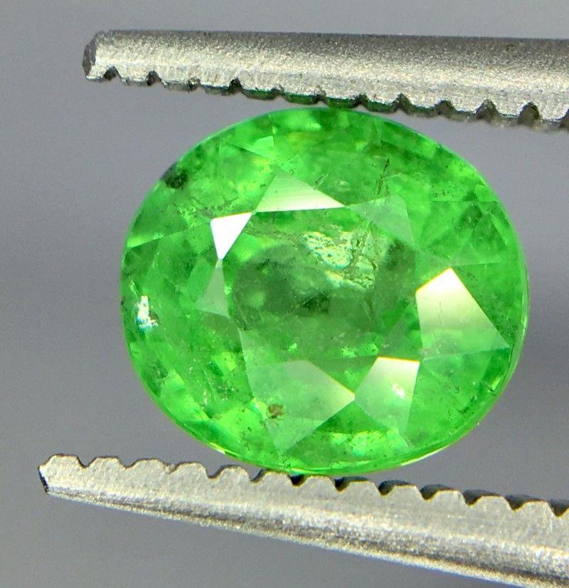 1 25 Crt Tsavorite Faceted Gemstone Gemstones Gems Garnet