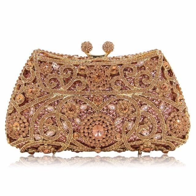 Milisente Evening Bags Ladies Women Clutches Clutch Bag Crystal Wedding  Party Purse 4060d5c04785c