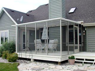 17 Best images about Screened in Porches on Pinterest   Stains, Living  furniture and Furniture collection
