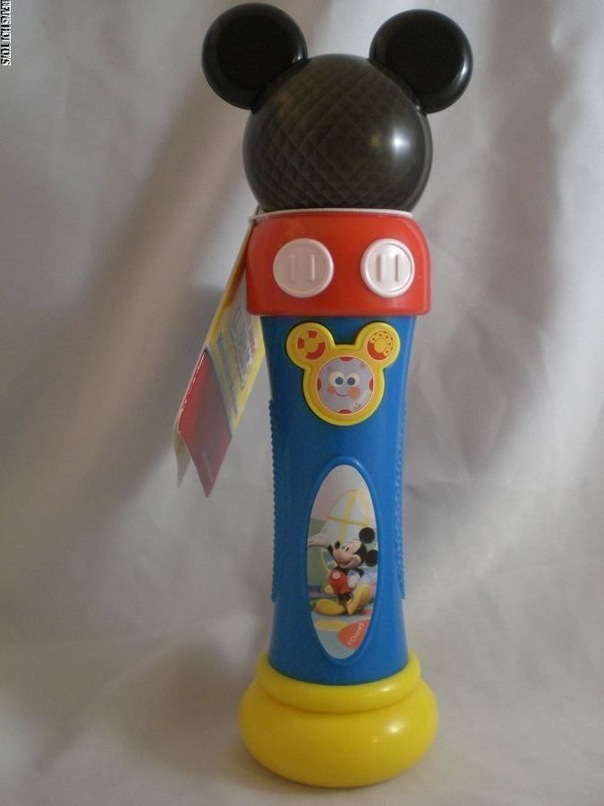 Mickey Mouse Mousekadoer Microphone Hot Dog Dance Toodles Nwt