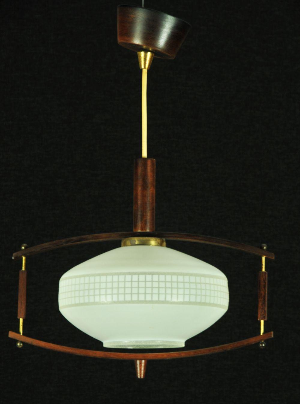 Vintage Hanging Lamp 1950s Hanging Lamp Lamp Pendant Lighting