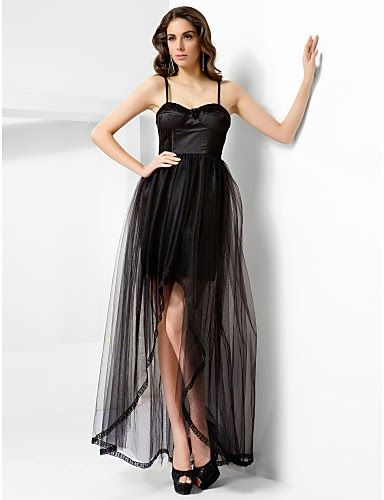6908d255be Fantásticos vestidos de fiesta asimétricos