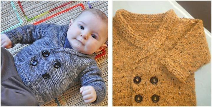 5a462c7ea163 Add this dapper Henry knitted sweater to your wee one s wardrobe ...