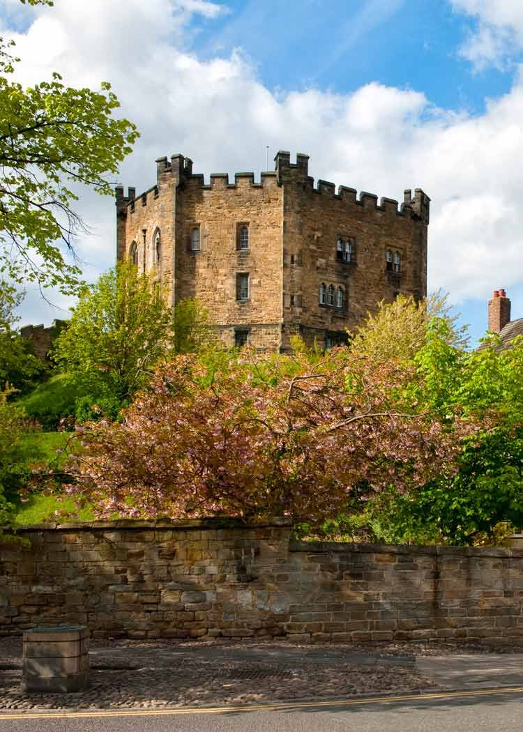 Durham Castle Keep Durham City England Cathedrals Castles