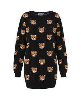 6039d826fdd Moschino Teddy Bears Women Sweaters Dress