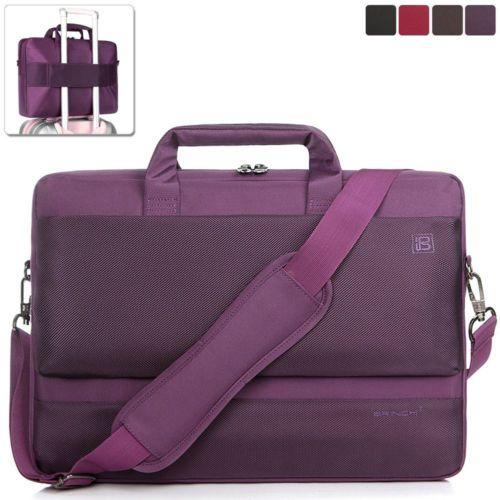 """BRINCH 15.6"""" Laptop Handbag Shoulder Bag Carrying Messenger Bag Briefcase for HP"""