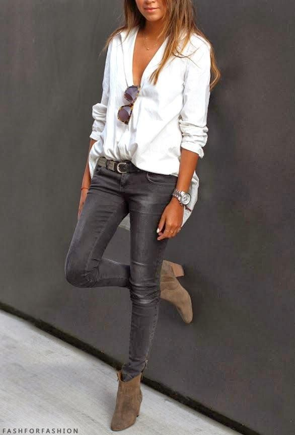 b13cedea534a8 Cómo combinar una prenda de fondo de armario  La camisa blanca ...