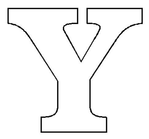 Image result for large block letter y | Quilt Patterns | Pattern