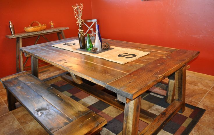 11 Free Farmhouse Table Plans For The Beginner Build Your Own