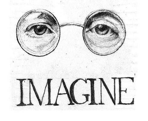 Pin By Sena On Words That Ring True Beatles Art Jhon Lennon Imagine John Lennon