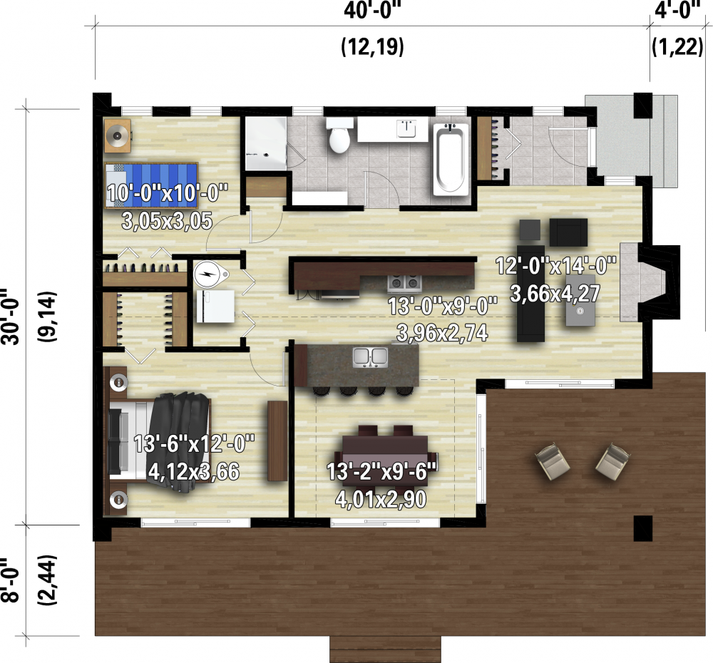 House Plan image used when printing