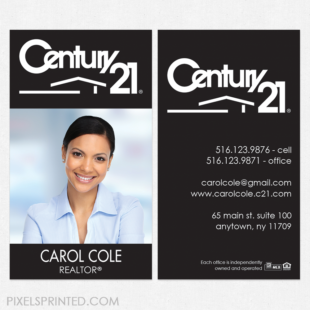 Century 21 Business Cards Unlimitedgamers Co