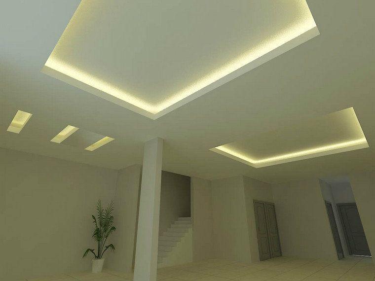 Informaci n de la luz indirecta como elemento decorativo - Decoracion de escayola ...