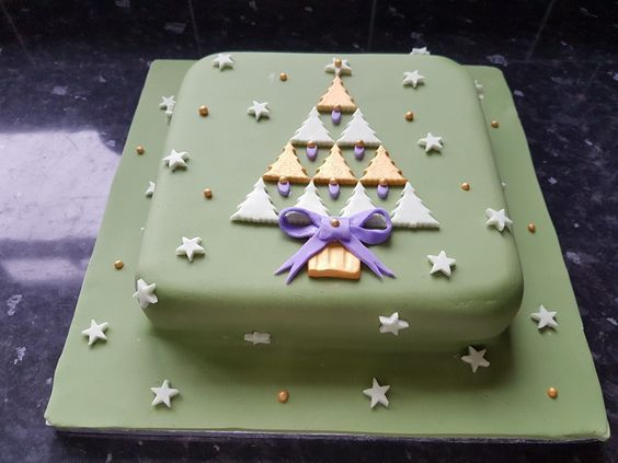 62 Awesome Christmas Cake Decorating Ideas and Designs #christmascake