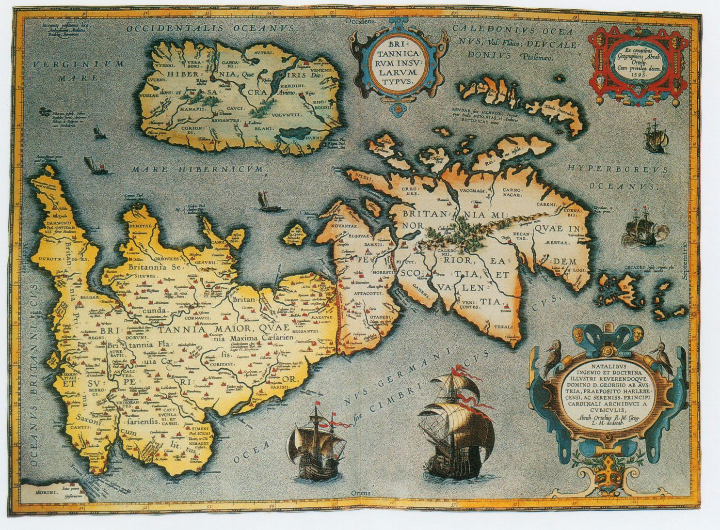 Age Of Empires 3 Africa Maps%0A British Isles Map  Abraham Ortelius