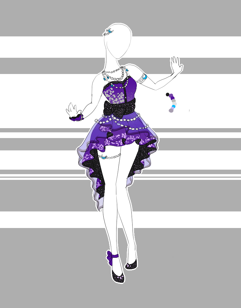 .::Outfit Adoptable 34(CLOSED)::. by Scarlett-Knig