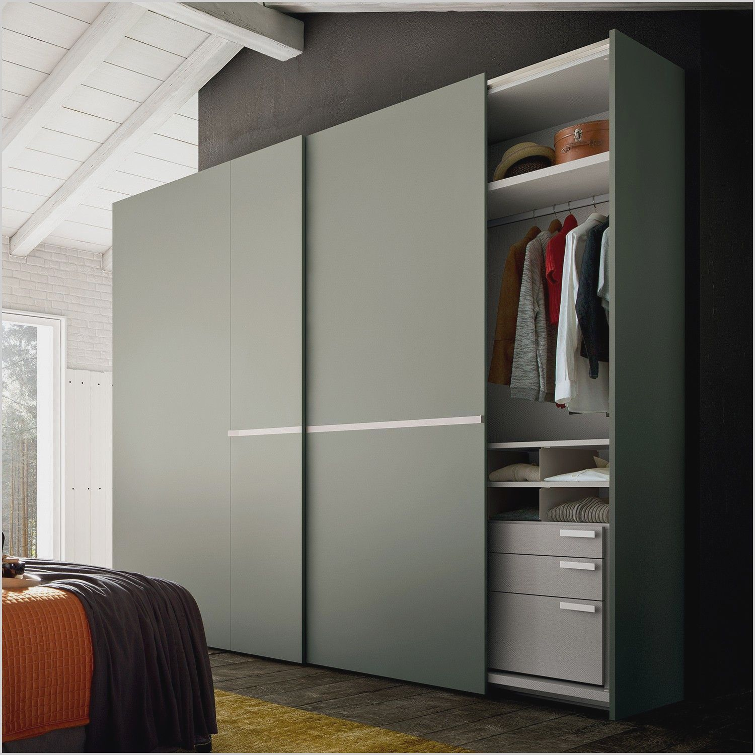 Bedroom Closet Cabinet Design In 2020 Bedroom Closet Design Sliding Door Wardrobe Designs Wardrobe Door Designs