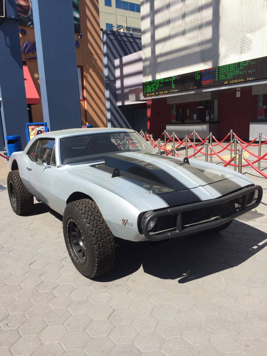 Crazy Camaro from Furious 7 Lifted cars, Muscle cars, Cars
