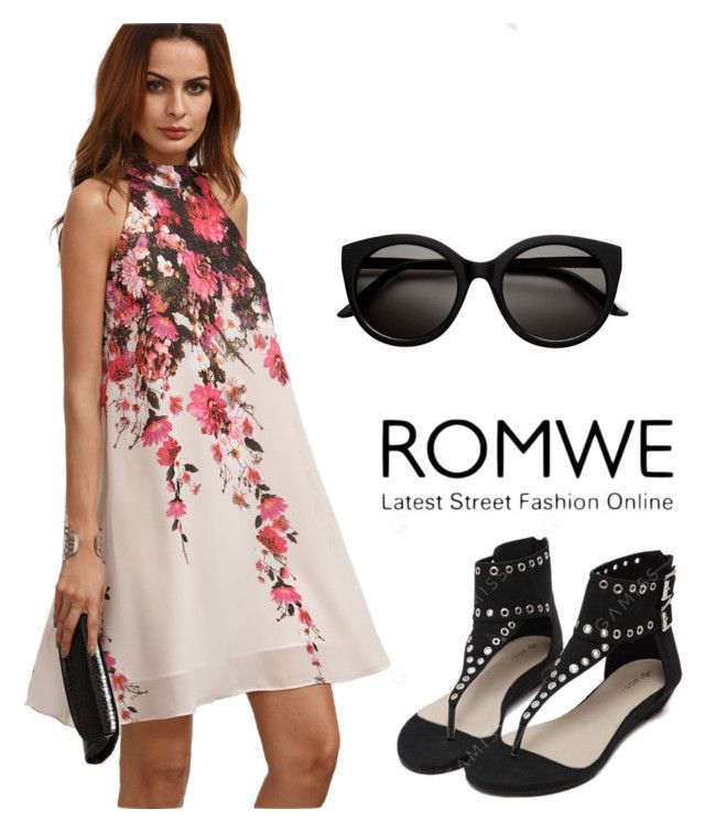 """""""Romwe"""" by niki140 ❤ liked on Polyvore"""
