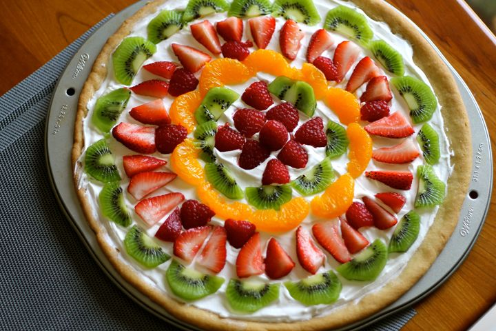 Day 17 of 30. Fresh Fruit Pizza for our Father's Day BBQ! #30DoC