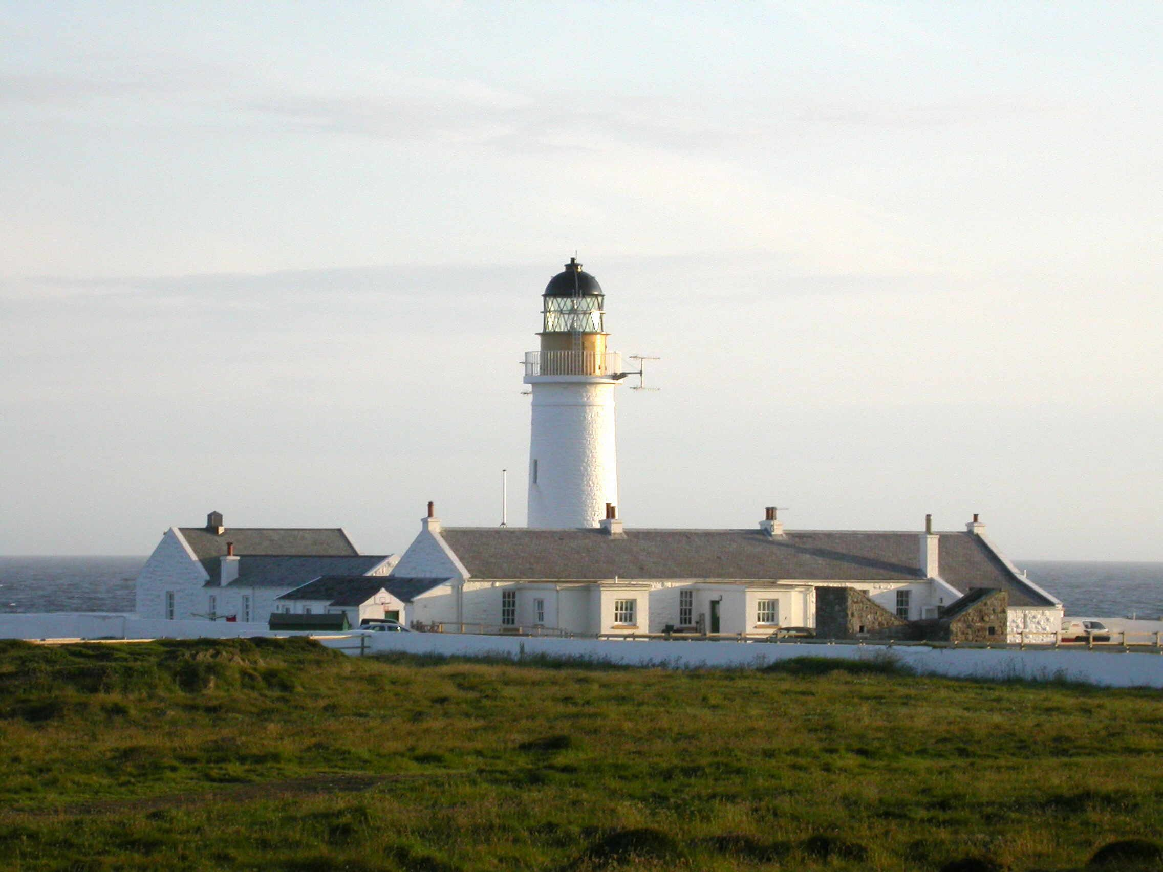 Langness lighthouse, now a private home