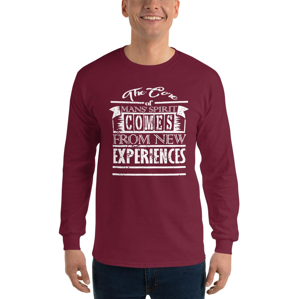 6ae83750824d The Core of Mans Spirit Long Sleeve Men's T-Shirts in 2019 ...