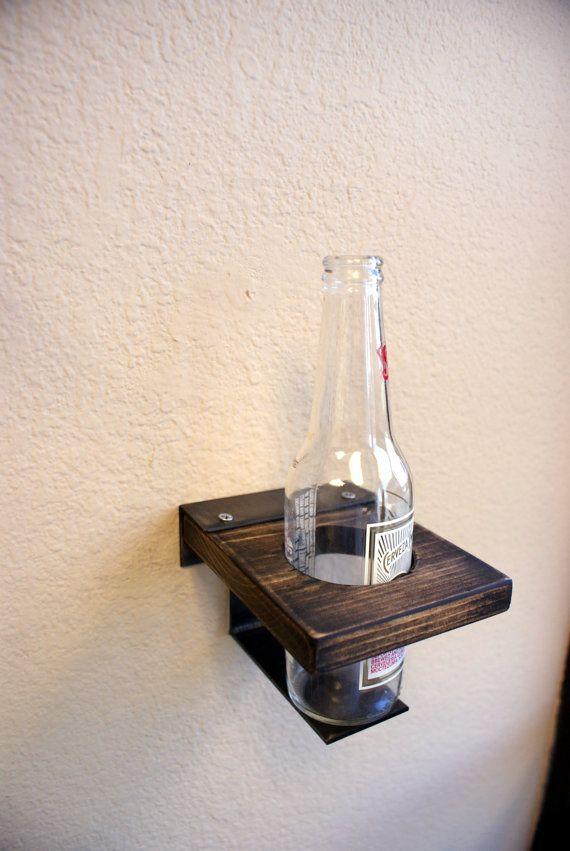 Beer Mount bottle can stuff to build Pinterest Herrenzimmer